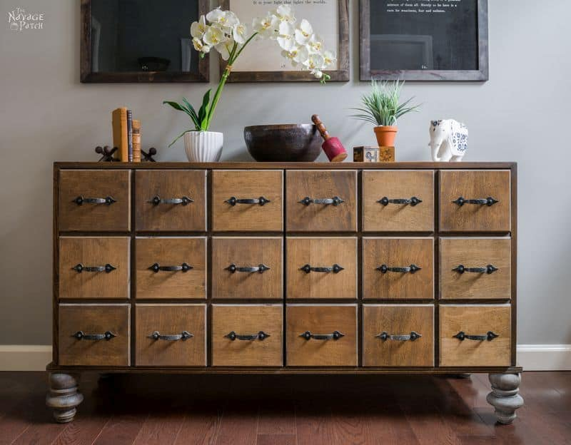 30 amazing faux card catalog makeovers  a ray of sunlight